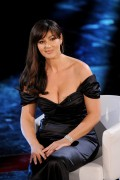 Monica Bellucci @ 61st Sanremo Song Festival in Italy, February 18, 2011