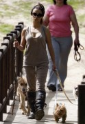 Monica Cruz Walking Her Dogs in Madrid April 10th HQ x 7