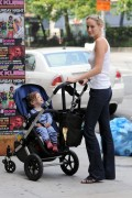 Leelee Sobieski - out and about in NYC candid 06/17/2011 x2