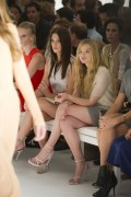 0b4f34149728637 Ashley Greene and Chloe Moretz @ Calvin Klein Spring 2012 fashion show, Sept 15 high resolution candids