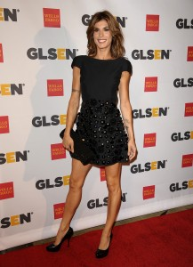 Элизабетта Каналис, фото 1147. Elisabetta Canalis the 2011 'GLSEN Respect Awards' in LA, 21.10.2011, foto 1147