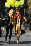 "Aubrey O'Day Stars of the new season of ""Celebrity Apprentice"" film an event for the show in New York, 3 November, x12"