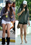 Who has the nicer legs? Miley Cyrus  vs. Vanessa Hudgens (HQ's)