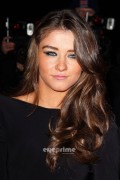 Brooke Vincent At The Sun Military Awards in London