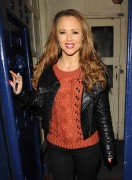 Kimberley Walsh leaving the Theatre Royal Drury in London, 21 December, x3