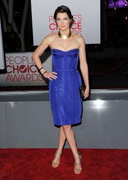 Коби Смолдерс, фото 195. Cobie Smulders At the 2012 People's Choice Awards January 11, foto 195