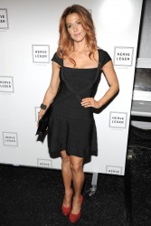 Poppy Montgomery @ Herve Leger Fall 2012 Show in NYC February 11, 2012 HQ x 19