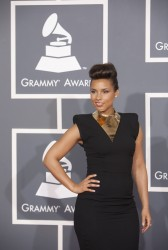 Алиша Киз (Алисия Кис), фото 3046. Alicia Keys 54th annual Grammy Awards - 12/02/2012 - Red Carpet, foto 3046