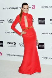 Петра Немсова, фото 4050. Petra Nemcova Elton John AIDS Foundation Academy Awards Party in LA, 26.02.2012, foto 4050