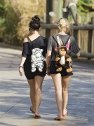 Эшли Бенсон, фото 380. Ashley Benson at Busch Gardens in Tampa Bay 03/03/12*with Vanessa Hudgens, foto 380,