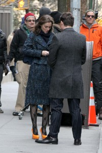 Лейгтон Мистер, фото 6886. Leighton Meester On the Set of 'Gossip Girl' in Manhattan - 05.03.2012, foto 6886