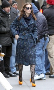 Лейгтон Мистер, фото 6849. Leighton Meester On the Set of 'Gossip Girl' in Manhattan - 05.03.2012, foto 6849