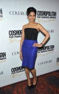 Фрида Пинто, фото 322. Freida Pinto at Cosmopolitan Fun Fearless Awards 2012, foto 322