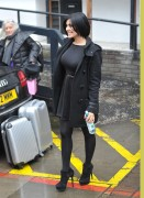 Kym Marsh Outside the ITV Studios in London 7th March x7