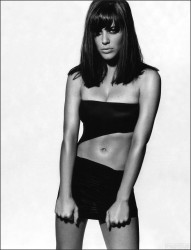 Michelle Ryan Belly Post *Mila Kunis wins Poll*