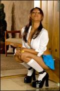 Прия Райi Анджали, фото 403. Priya Anjali Rai 'Naughty Schoolgirl' Foxes Set, foto 403