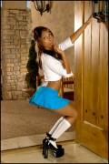 Прия Райi Анджали, фото 396. Priya Anjali Rai 'Naughty Schoolgirl' Foxes Set, foto 396