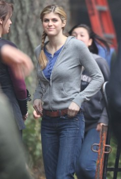 Alexandra Daddario - On Set of 'Percy Jackson & The Olympians: The Sea of Monsters' | May 23, 2012 | 3x HQ