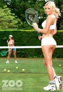 Дейзи Ваттс, фото 123. Daisy Watts & Amy Green - Sexy Wimbledon July 2012 LQ Tags, foto 123