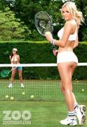 ����� �����, ���� 123. Daisy Watts & Amy Green - Sexy Wimbledon July 2012 LQ Tags, foto 123