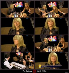 Pia Zadora---July 2012-Interview--legs---USA